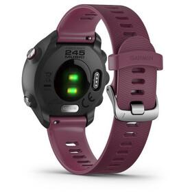 Garmin Forerunner 245 GPS Smartwatch, black/merlot